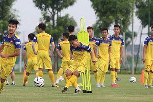 19 cầu thủ U22 Việt Nam hội quân, chuẩn bị đấu tập với CLB của Hong Kong