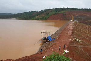 Đắk Nông: Cửa xả của đập thủy điện Đắk Kar đã được vận hành