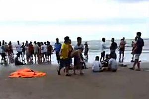 Đuối nước tập thể khi tắm biển ở La Gi: Mở rộng phạm vi tìm kiếm 2 du khách