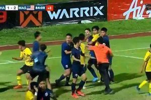 Thái Lan xin lỗi vì màn đấu võ, Malaysia ăn mừng kiểu 'giấc ngủ bình yên'