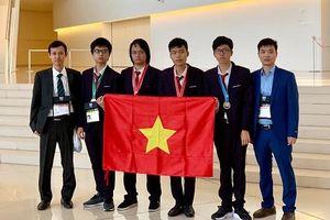 Việt Nam giành 4 Huy chương Olympic Tin học quốc tế năm 2019