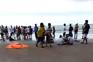 Tắm biển tại khu du lịch Đất Lành: 4 người tử vong, 2 người mất tích