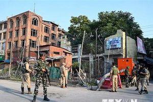 Ấn Độ tái áp đặt một số hạn chế tại khu vực Kashmir