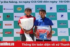 Thanh Hóa thống trị lứa tuổi 12 tại giải Giải quần vợt vô địch thanh thiếu niên toàn quốc năm 2019