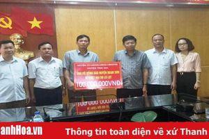Huyện Tĩnh Gia ủng hộ 150 triệu đồng cho Quan Sơn và Mường Lát khắc phục hậu quả sau mưa lũ