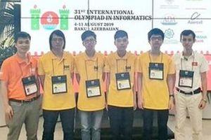Việt Nam xếp thứ 4 tại kỳ thi Olympic Tin học quốc tế 2019