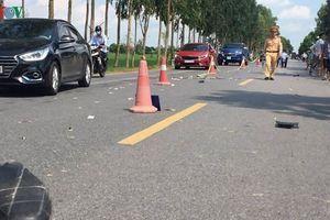 Ô tô du lịch va chạm với xe máy, 1 người tử vong tại chỗ