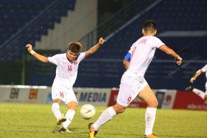 Thắng dễ U18 Singapore, U18 Việt Nam sáng cửa vào bán kết