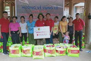 Central Group Việt Nam tặng quà hỗ trợ đồng bào vùng lũ ở Thanh Hóa