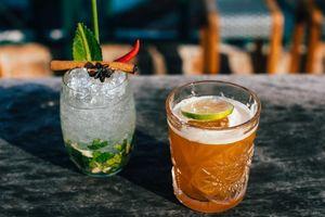 Khách Tây sáng tạo cocktail từ nước dùng phở truyền thống