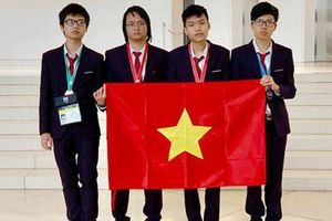 Việt Nam đoạt 2 huy chương vàng Olympic Tin học quốc tế