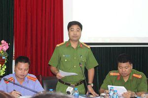 Hà Nội thông tin vụ án 'Chống người thi hành công vụ' tại lô TH1