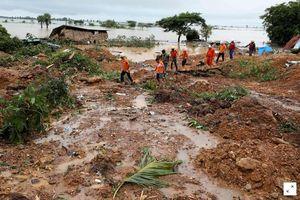 Hơn 50 người chết do lở đất ở Myanmar