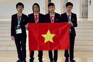 Đoàn Việt Nam xếp thứ 4 tại kỳ thi Olympic Tin học quốc tế 2019