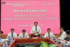 Di chúc của Chủ tịch Hồ Chí Minh - những căn dặn mang tầm nhìn vượt thời gian