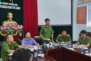 Công an quận Bắc Từ Liêm trả lời thiếu thuyết phục vụ 'chống người thi hành công vụ'