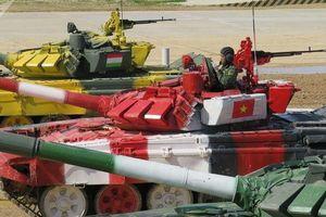 Tuyển xe tăng Việt Nam thể hiện năng lực xuất sắc tại hội thao quân sự quốc tế