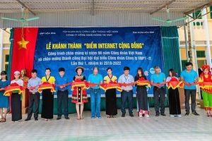 VNPT-IT tặng giải pháp giáo dục điện tử cho trường học Hòa Bình