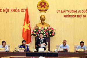 Khai mạc Phiên họp thứ 36 của Ủy ban Thường vụ Quốc hội