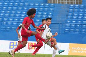 Xác định đội bóng đầu tiên vào bán kết U18 Đông Nam Á
