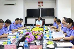 Viện trưởng VKSND tối cao thăm và làm việc tại VKSND TP Hồ Chí Minh