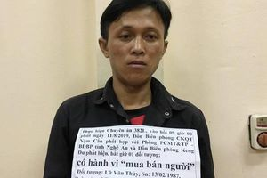 Nghệ An: Bắt kẻ buôn bán phụ nữ qua biên giới