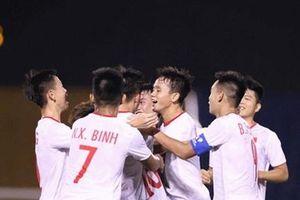 Hạ Singapore, U18 Việt Nam sẵn sàng cho trận gặp U18 Thái Lan