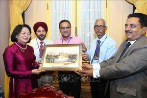 Phó Chủ tịch nước Đặng Thị Ngọc Thịnh tiếp Đoàn đại biểu nhân dân Ấn Độ