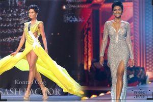 Váy vàng và váy ánh kim của H'Hen Niê tiếp tục thống trị top 10 trang phục tạo hiệu ứng đỉnh nhất Miss Universe