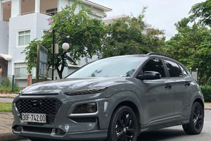 Hyundai Kona lạ mắt với màu 'xi măng'