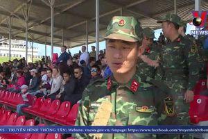 Đội tuyển Xe tăng Việt Nam thi đấu xuất sắc tại Army Games – 2019