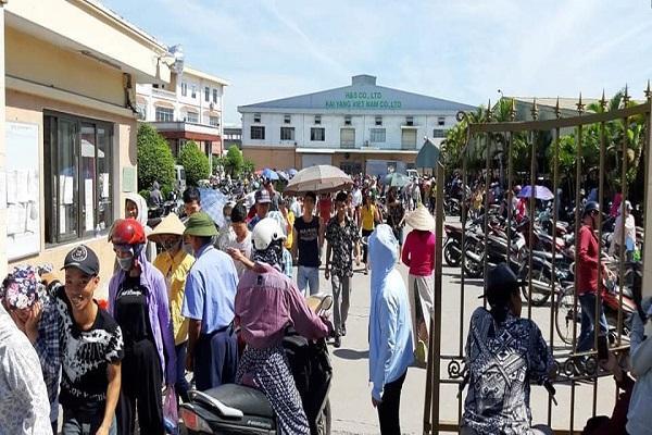 Hải Phòng: Ban Giám đốc Công ty KaiYang 'biến mất', hơn 3000 công nhân hoang mang