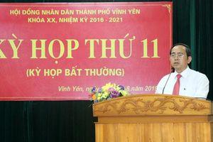 Vĩnh Phúc: Vĩnh Yên có tân chủ tịch UBND thành phố