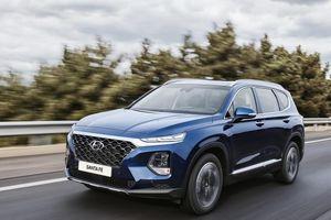 Hyundai SantaFe bất ngờ vượt Honda CR-V lọt Top xe bán chạy tháng 7