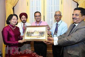 Phó Chủ tịch nước Đặng Thị Ngọc Thịnh tiếp Đoàn đại biểu Ấn Độ
