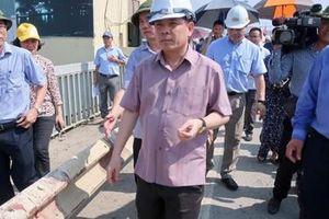 Bộ trưởng Giao thông ra điều kiện tiên quyết khi sửa mặt cầu Thăng Long