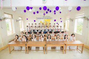 Lớp học trường làng ở Hà Tĩnh có 100% học sinh đỗ đại học