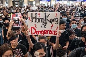Trung Quốc chỉ trích biểu tình ở Hong Kong là 'có dấu hiệu khủng bố'