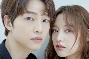 Song Joong Ki né đứng bên 'người tình tin đồn' trong bộ ảnh mới