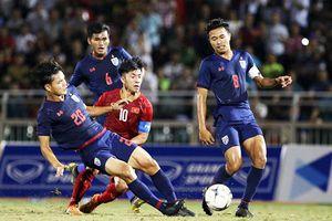 Hàng công vô duyên, U18 Việt Nam để U18 Thái Lan cầm hòa đáng tiếc