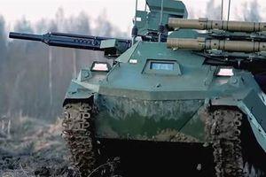 Nga sản xuất robot chiến đấu 40 tấn thay thế Uran-9