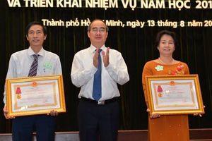 Bí thư Thành ủy Nguyễn Thiện Nhân: TP HCM luôn dành ưu tiên cao nhất cho giáo dục