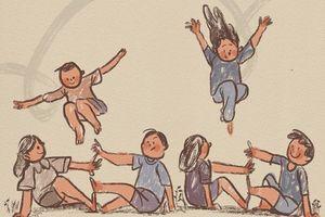 Tan chảy với những bức ảnh cực đáng yêu về tuổi thơ dữ dội ai cũng từng trải qua