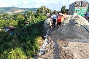 Công nhân tử vong khi rơi khỏi cầu Đại Ninh đang thi công