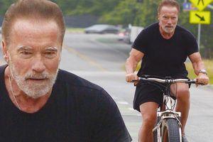 Tài tử 'Kẻ hủy diệt' Arnold Schwarzenegger U80 cơ bắp cuồn cuộn