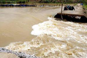 Vỡ đê bao ở Đăk Lăk, hơn 1.000 ha lúa bị ngập