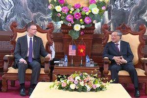 Chánh án TANDTC Việt Nam tiếp xã giao Đại sứ Hoa Kỳ tại Việt Nam