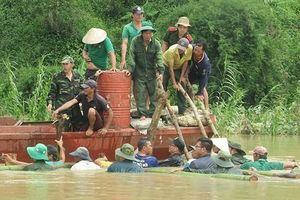Đắk Lắk: Đê bao hơn 300 tỷ đồng vỡ, người dân mất trắng 500 ha lúa