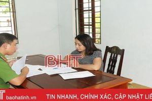 Hà Tĩnh: Phá đường dây lô đề toàn… nữ, thu giữ hơn 40 triệu đồng