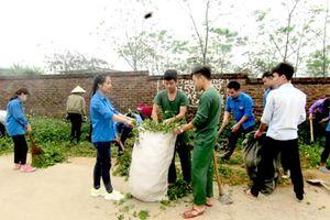 Chuyện bộ đội giúp dân xóa 'điểm đen' rác thải, xây dựng nông thôn mới